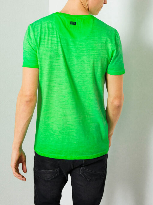 Petrol Industries Gemêleerd V-hals T-shirt Andean Toucan