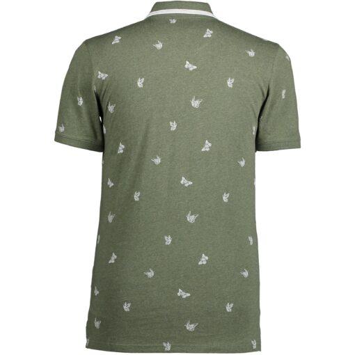 State of Art Poloshirt met contrasterende streep in kraag