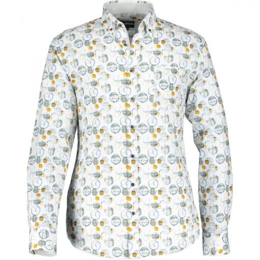 State of Art Poplin Overhemd met Stretch
