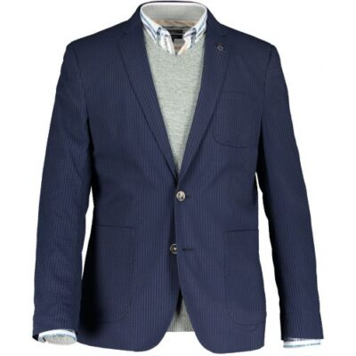 State of Art Blazer met modern fit Donkerblauw