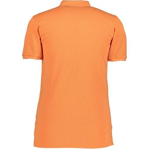 State of Art Katoenen poloshirt piqué Oranje