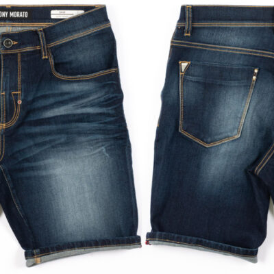 Antony Morato Skinny Fit Short Blue Denim