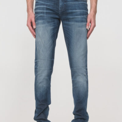 "ANTONY MORATO ""OZZY"" TAPERED-FIT JEANS POWER STRETCH DENIM BLUE DENIM"