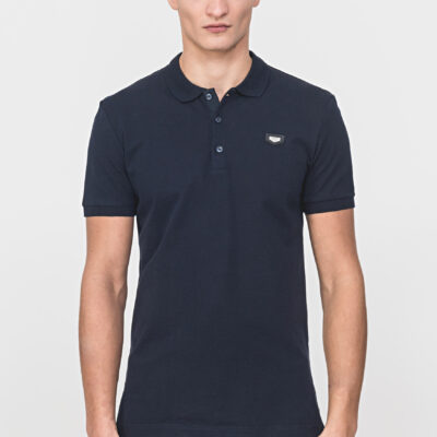 Antony Morato Polo Shirt Piqué Blue Ink