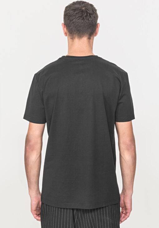 Antony Morato T-Shirt Zwart Met Embossed Morato Logo