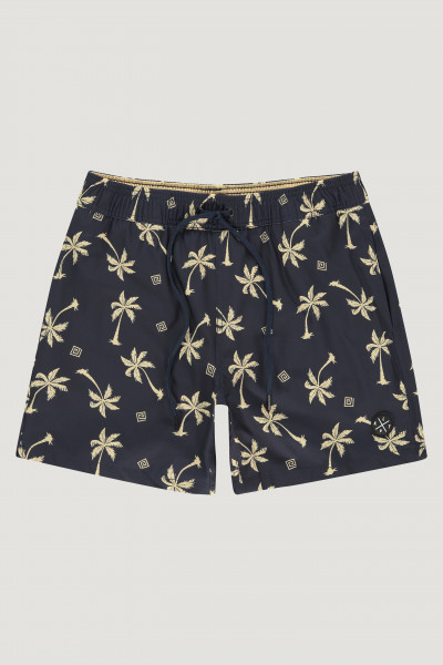 Kultivate Swimshort Yellow Palm