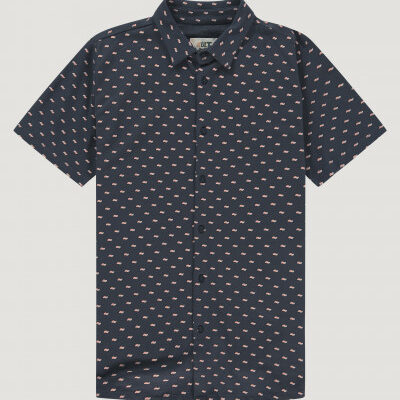 Kultivate Shirt Hemicycle donkerblauw