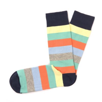 Tresanti Socks light colours stripes