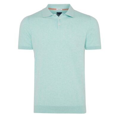 Tresanti Trevor | Pullover met polokraag mint groen