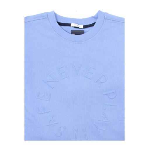 Tresanti Ted | Sweater ronde hals lichtblauw