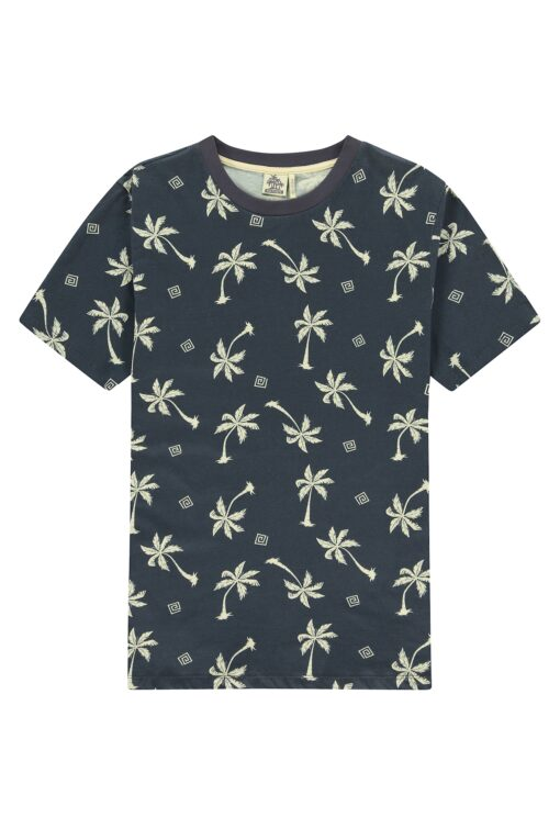 Kultivate Blue Palms T-shirt