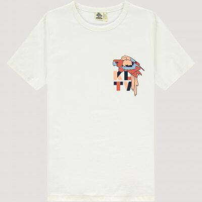 Kultivate T-Shirt Parrot Ecru