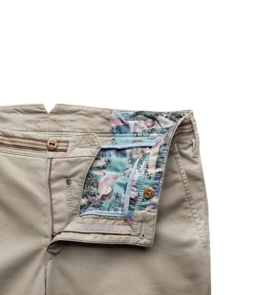 MMX APUS MICRO-STRUCTURE COTTON CHINOS TAUPE
