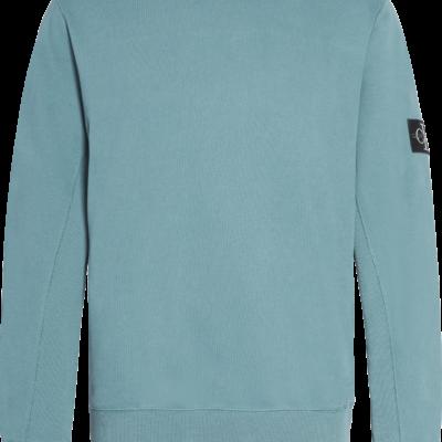 Calvin Klein Sweatshirt van biologisch katoen Vapor Green