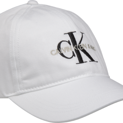 CALVIN KLEIN PET MET LOGO BRIGHT WHITE