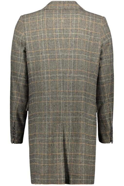 Circle of Trust LAURENS COAT Caramel check