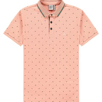 Kultivate Polo Wolf Dusty pink