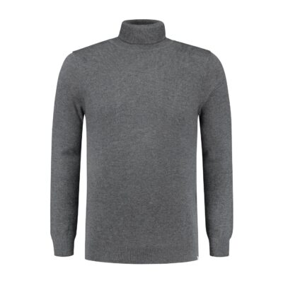 Circle of Trust STEWART TURTLENECK CHARCOAL MELANGE