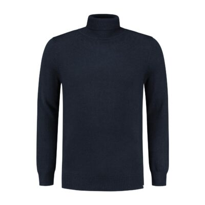 Circle of Trust STEWART TURTLENECK MIDNIGHT MARINE MELANGE