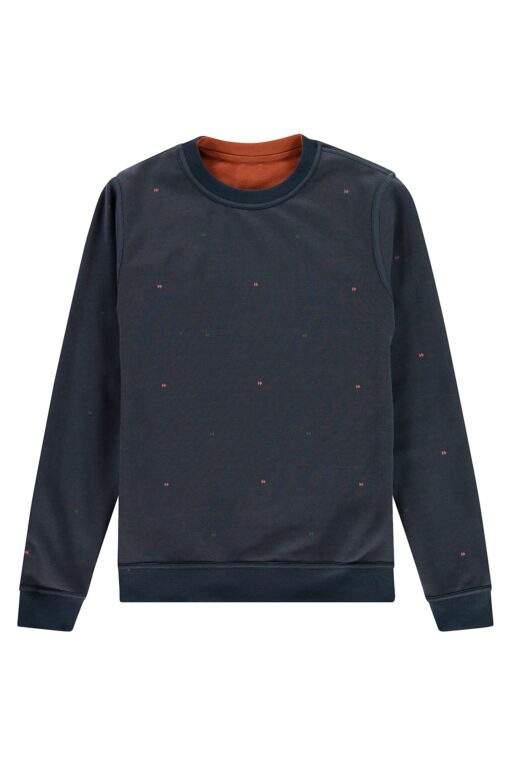 Kultivate Sweater Reverse Picante
