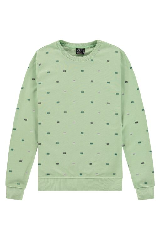 Kultivate Sweater Tapes Quiet green