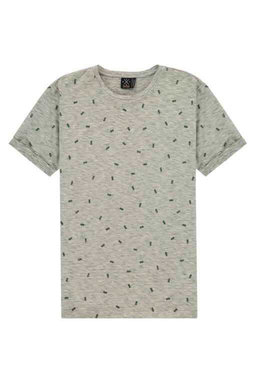 Kultivate Tee Domino Mallard green