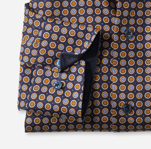 OLYMP Luxor Modern Fit, Zakelijke Overhemd, Global Kent, Mais
