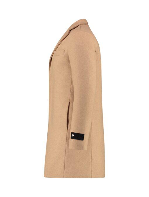 Purewhite Premium Long Coat Sand