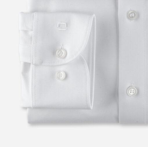 OLYMP Level Five 24/Seven Body Fit, Zakelijke Overhemd, New York Kent, Wit