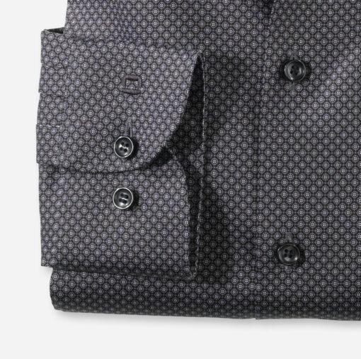 OLYMP Level Five Body Fit, Zakelijke Overhemd, Royal Kent, Zwart