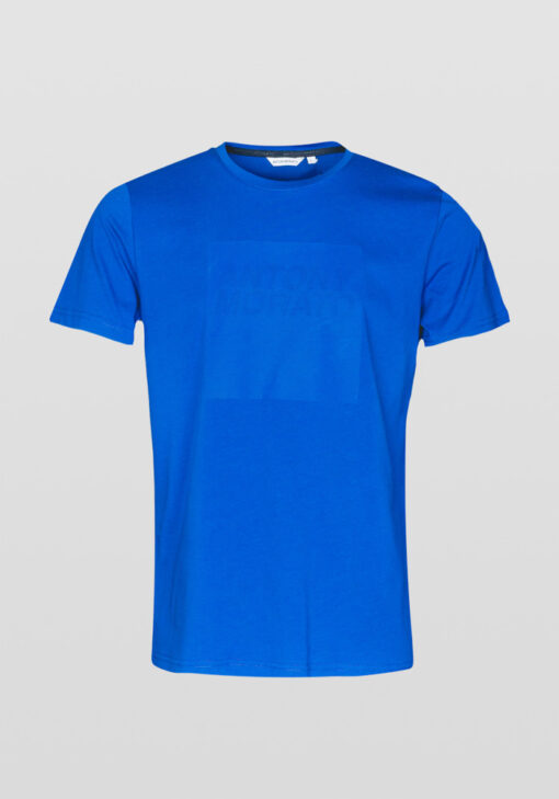 ANTONY MORATO T-SHIRT LOGOPRINT ROYAL