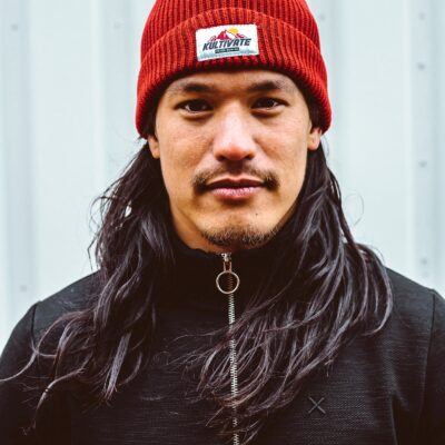 Kultivate Trail Beanie Rood