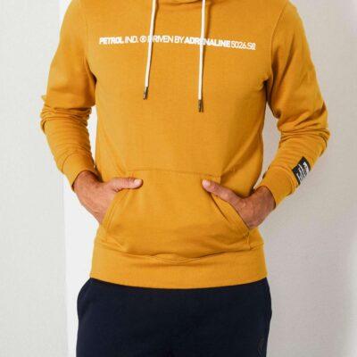 Petrol Industries Classic hoodie Gold