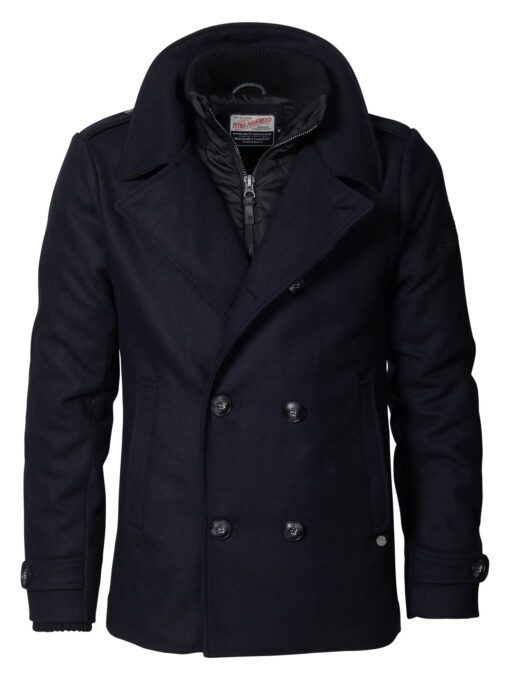 Petrol Industries Wollen jacket Black Navy
