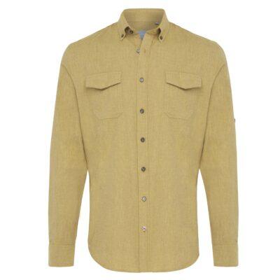 Tresanti Jasper Geel flanele shirt