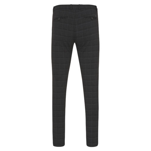 Tresanti Justin Trousers stretch antracite check