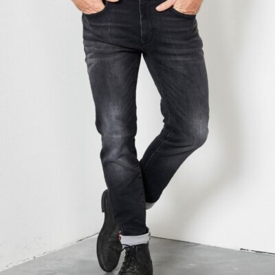 Petrol Industries Jackson slim fit Black stone