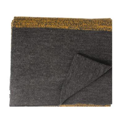 Tresanti Joel Gebreide sjaal met kleurverschil in de onderzijde