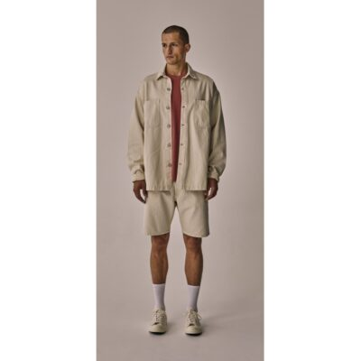Just Junkies Osia Overshirt Off white