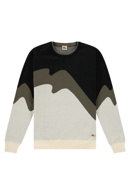 Kultivate Jumper Organic Shapes Crew