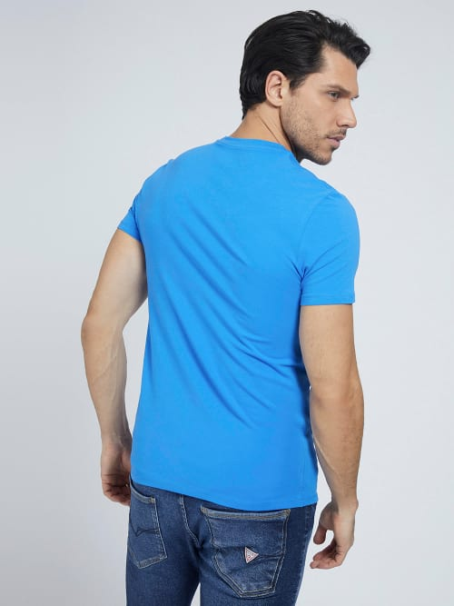GUESS SUPERSLIM T-SHIRT EMPIRE BLUE