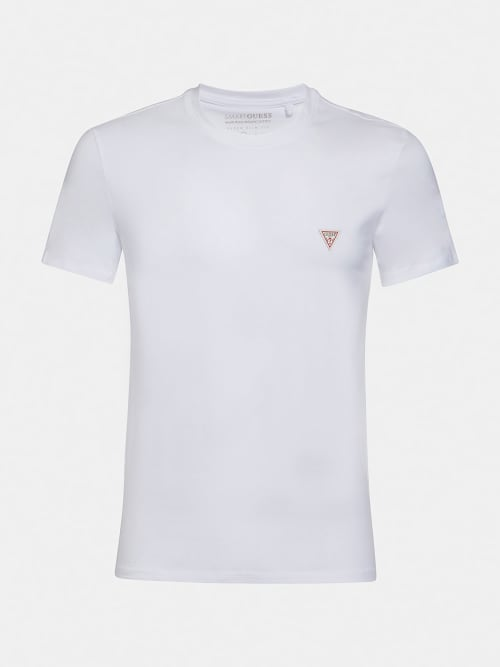 GUESS SUPERSLIM T-SHIRT TRUE WHITE