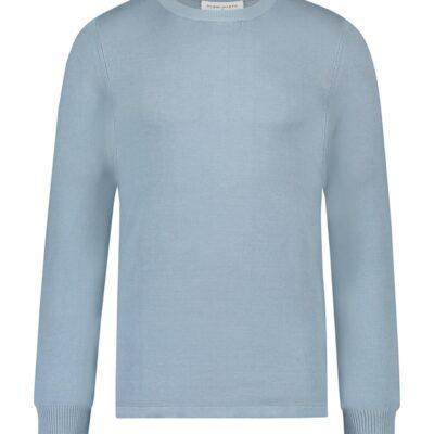 Purewhite Essential Knit Crewneck Blue