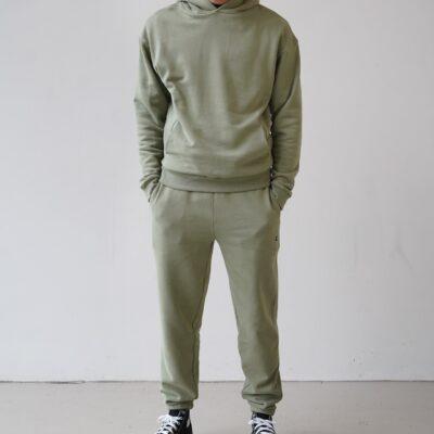 Kultivate Comfort Studio Pants Comfort Oil Green