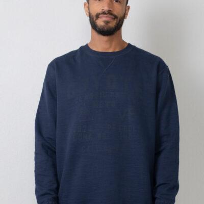 Petrol Industries Sweater met print Dark petrol