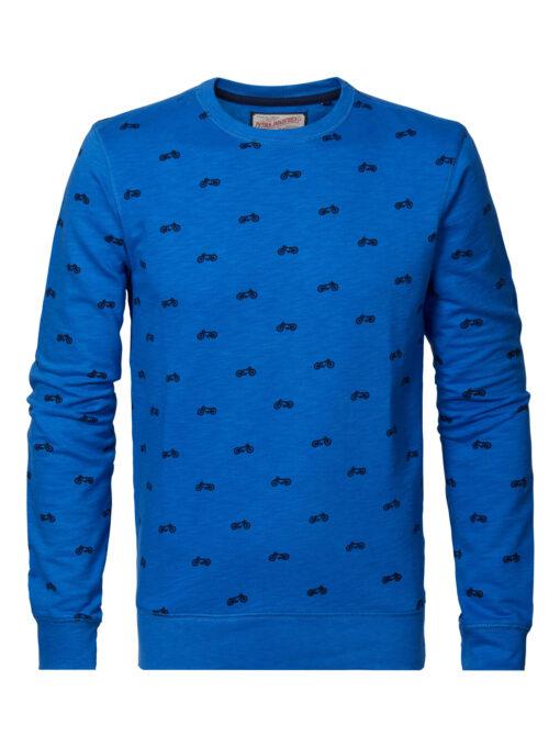 Petrol Industries Zomerse sweater Azure Blue