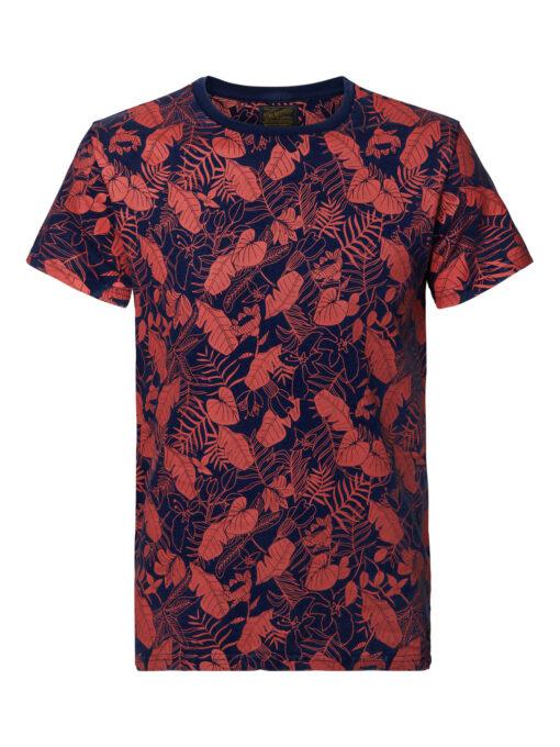 Petrol Industries Botanic t-shirt Dark Indigo