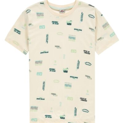 Kultivate Tee Graphics Pearled Ivory