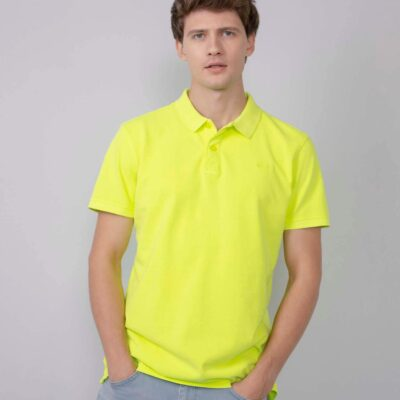 Petrol Industries Classic urban polo Safety Yellow