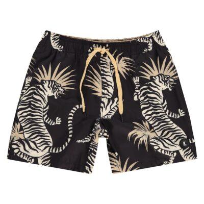 Kultivate Swimwear tiger Jetblack